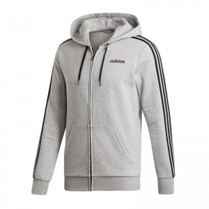 Bluza adidas Essentials 3 Stripes Fullzip Fleece M DU0476