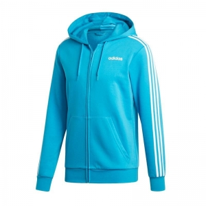 Bluza adidas Essentials 3 Stripes Fullzip Fleece M DU0477