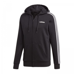 Bluza adidas Essentials 3 Stripes FZ French Terry M  DQ3102